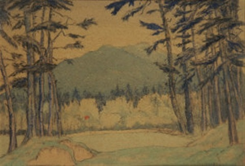 the ninth green, kilcrowney by mabel young