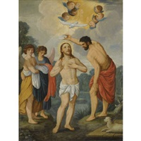 the baptism of christ by johann (hans) konig