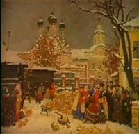 premiere neige a moscou by sergei smirnov