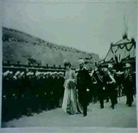 sejour du tsar et de sa famille a tsarkoie-selo (pouchkine) (album de 50 tirages) by ganm