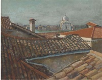the giudecca, venice by john arthur malcolm aldridge