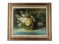 fleurs dans un panier by godchaux