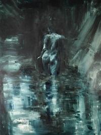 acqua - figura di spalle by alessandro papetti