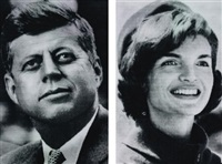 i. jfk vs jackie; ii. jackie vs jfk ii (in 2 parts) by alex guofeng cao