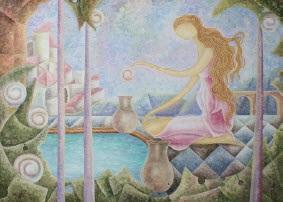 mujer nostálgica by miguel a de la torre