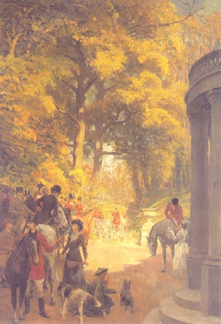 it is our opening day by george percy r. e. jacomb-hood