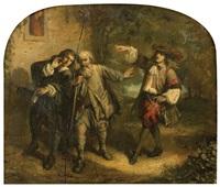 don juan et le pauvre de molière by louis-alexandre eustache-lorsay