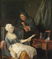 la mere indulgente by pierre alexandre wille