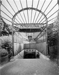 metropolitan, paris by evelyn hofer