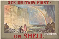 see britain first - on shell, beachy head by dominique charles fouqueray