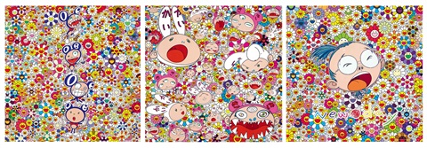 新日子,新希望 new day kaikai and kiki set of 3 by takashi murakami