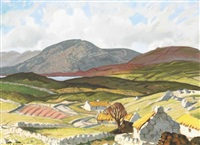 connemara landscape by harry epworth allen