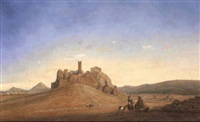 view of the acropolis by courday