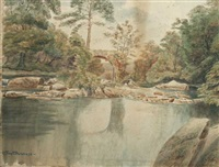 cromwell bridge, glengariff by frederick duncan