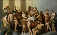 les dieux de l'olympe by andries cornelis lens