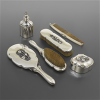 vanity set (set of 6) by georg jensen