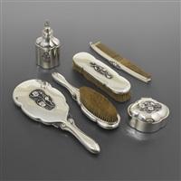 vanity set (set of 6) by georg jensen