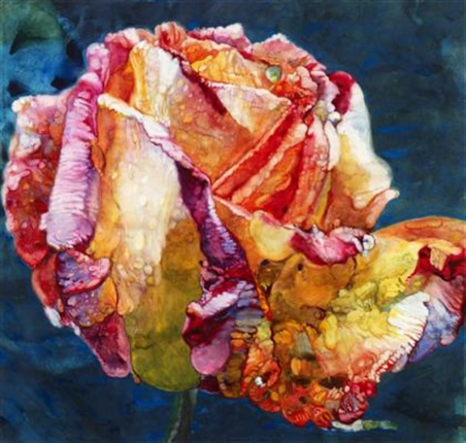 mediterranean rose by joseph raffael