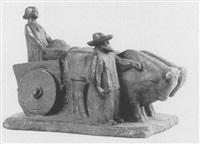 erntewagen by hermann geibel
