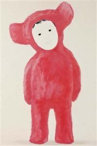 little pink bear by mayuka yamamoto
