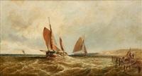 Retour des pêcheurs à Douvres