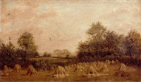 cornfield, corley, near coventry by john anderson