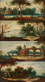 scènes animées de personnages (4 works) by flemish school (17)