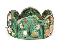 untitled (crown) (6 works) by grayson perry