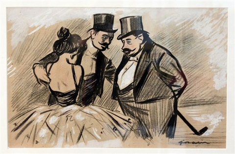 dans les coulisses de lopéra de paris by jean louis forain