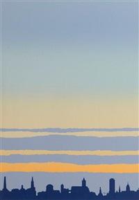 dublin skyline by robert ballagh
