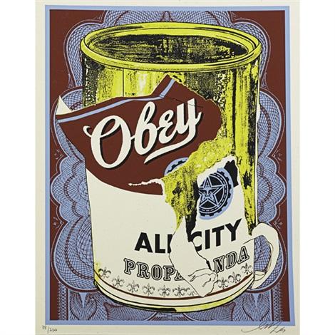 all city propaganda by shepard fairey