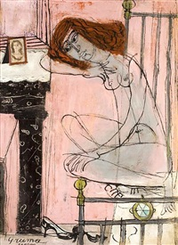 girl in interior by costas grammatopoulos