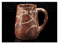 a shino mug by rosanjin kitaoji