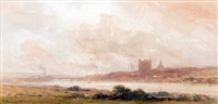 distant view of rochester by arthur gerald ackermann