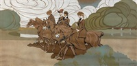 les cavalières by francois marie léon de marliave