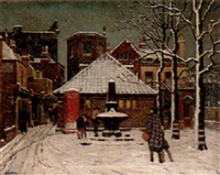 winter afternoon: hammersmith by aeta jardine