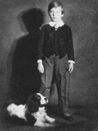 bub mit seinem hund by rolf mahrenholz