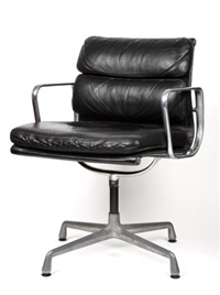soft pad armchair by charles and ray eames