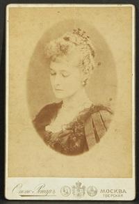 empress alexandra feodorovna by otto renar