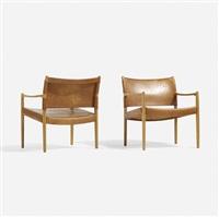 premiär-69 armchairs, pair by per-olof scotte