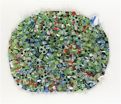 untitled 56 by howardena pindell