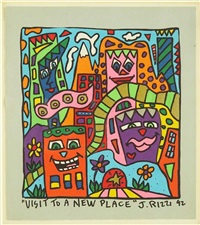 visit to a new place by james rizzi
