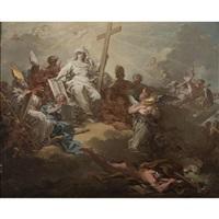 le triomphe de la foi by corrado giaquinto