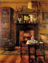interior by maud hall (rutherford) neale