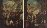 il miracolo del ss. sacramento a torino: la caduta dell'asina by giovanni michele graneri
