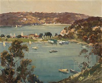 the spit, sydney harbour by james ranalph jackson