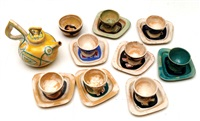 tea set (18 works) by aharon kahana