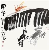 花鸟 by jiang guohua
