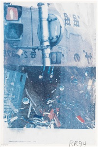 bulkhead (day lights) by robert rauschenberg