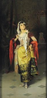 eine spanische senora by r. valero